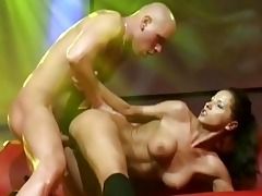 juvenile breasty sex on public stage
