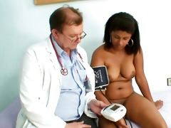 manuela dark fur pie gyno speculum perverted exam