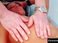 sara gyno fur pie speculum exam by perverted old
