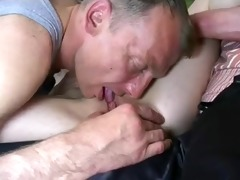 daughter in group sex fuckfest.