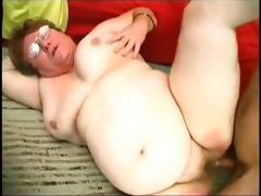 breasty plumper receives an intense finger bang