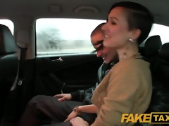 faketaxi i join lewd married pair for an