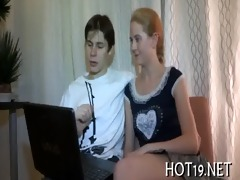 nice team fuck with legal age teenager hotty