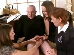 nasty sluts jerking off old mans petty little