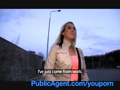publicagent jenkas hawt body is bent over and