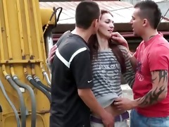 youthful legal age teenager hotty public sex fuck