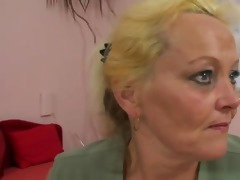 old blond wench gets hammered