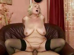 breasty corpulent grandma fucking juvenile pounder