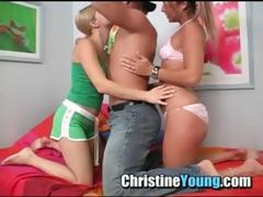 christine juvenile and ally oral pleasure