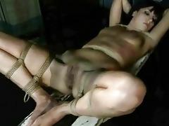 juvenile dominant-bitch punishing her slavegirl