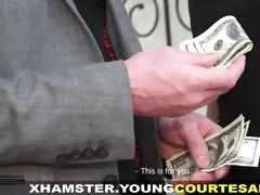 juvenile courtesans - screwed with a bonus