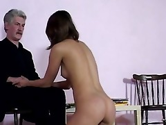 gracious brunette hair gal got pumped by ribald