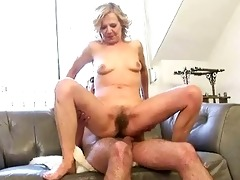 wicked old whore fucking a lad