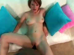 [1006] faith daniels takes a creampie from