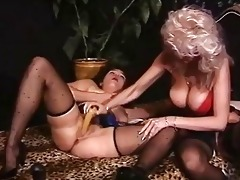 old german chicks toying and fisting