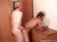 old sexually excited fart anal drilling cute guy