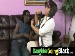 hot daughter jock engulf and interracial fuck 7
