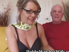 old guy suggests wife to randy dude