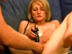 young blonde doxy fist drilled in her loose slit