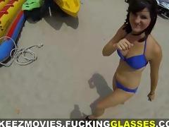 fucking glasses - fucking random vacation babe