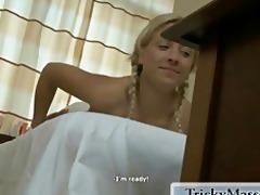 this blond slut is so seductive!