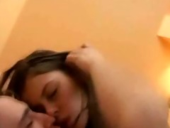 youthful non-professional pair goes anal sex