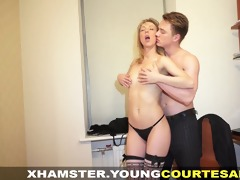 youthful courtesans - drilled for specie and for
