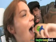 black schlong and a diminutive babe 68