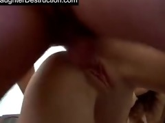cute hotty fucked into ass hard